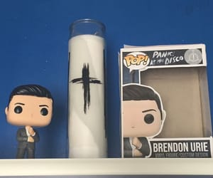 brendon urie, panic at the disco, and funko image