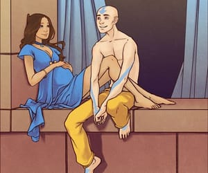 avatar, cartoon, and couple image
