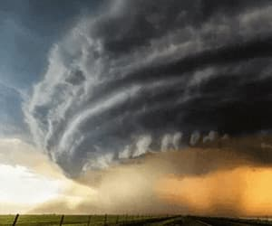 cloud, clouds, and tornado image