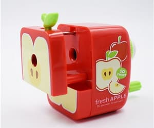 apple, green, and cute image