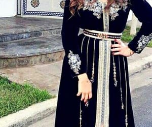 black, oriental, and robe image