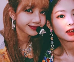 jennie, lisa, and blackpink image