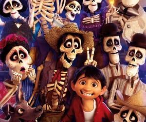 coco, pixar, and disney image