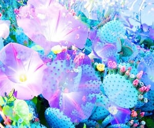 blue, colorful, and theme image
