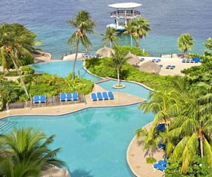 Caribbean, travel destination, and curacao image