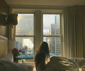 bed, feelings, and girl image
