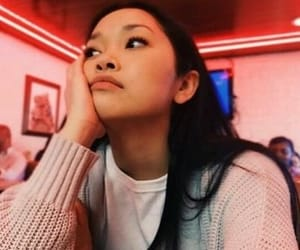 lana condor, lara jean, and movie image