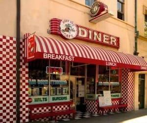 80, diner, and food image