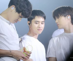exo, chansoo, and d.o image