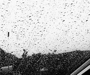 rain, angry, and sad image