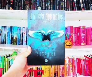 angel, books, and livro image