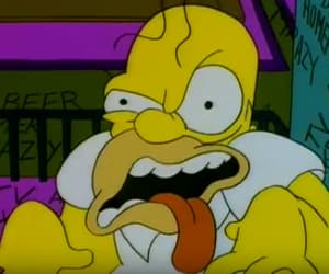 homer, the simpsons, and funny image