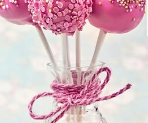 pink, cake pops, and sweet image