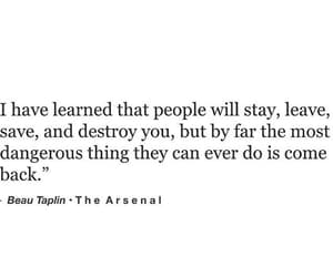 destroy, leave, and quote image