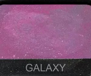 eyeshadow, galaxy, and makeup image