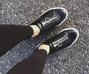 black, shoes, and loveit image