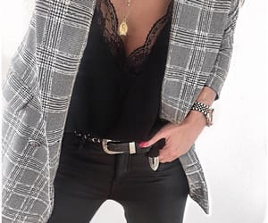 black, blazer, and inspiration image