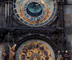 clock, time, and art image