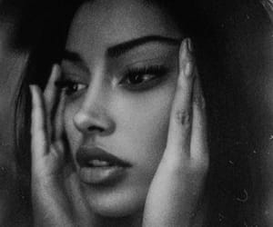 black and white, cindy kimberly, and model image