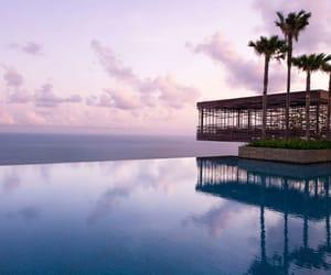 bali, pool, and travel image