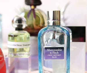 parfum, abercrombie & fitch, and first instinct blue image