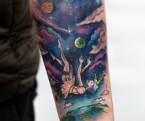 body art, inked, and tattoo image