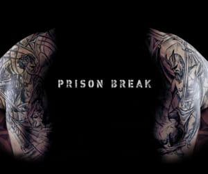 prison break, series, and tattoo image