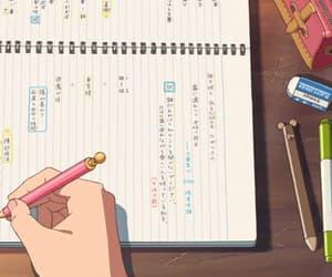anime, kawaii, and school image