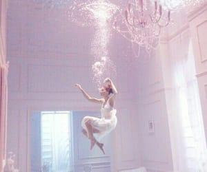 flood, room, and girl image