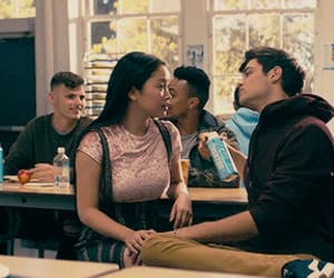 couple, movie, and lara jean image
