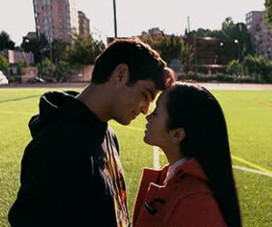 couple, peter kavinsky, and i've loved before image