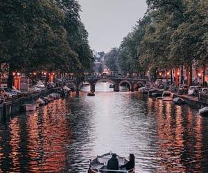 amazing, amsterdam, and city night image