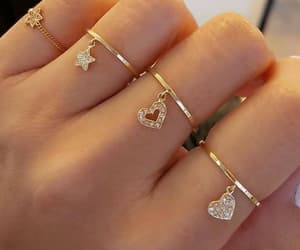 rings, girly, and theme image
