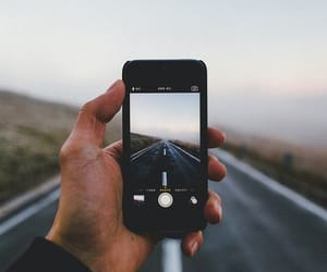 iphone, nature, and photo image