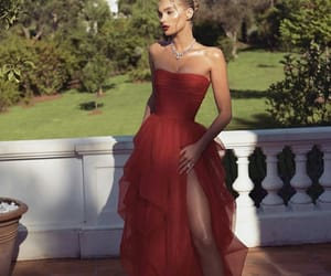 fashion, dress, and elsa hosk image