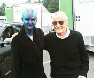 behind the scenes, stan lee, and gotg image