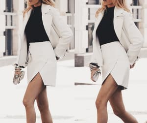 black and white, blake lively, and style image