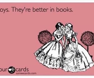 books, fangirls, and boys image