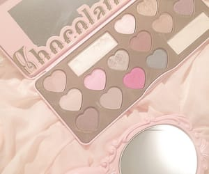 candy, chocolate, and makeup image