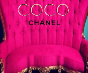 background, chanel, and pink image