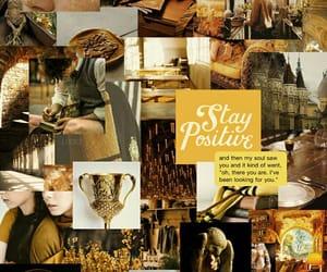 harry potter, yellow, and lockscreen image