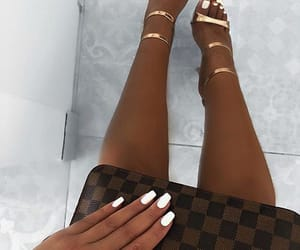 Louis Vuitton, fashion, and nails image