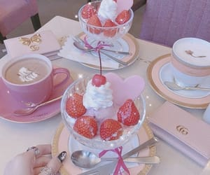 aesthetic, food, and pastel image
