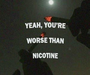 alternative, Lyrics, and Nicotine image