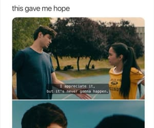 lana condor, movie, and noah centineo image