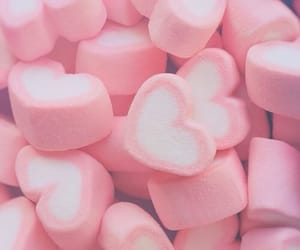 marshmallow and pink image