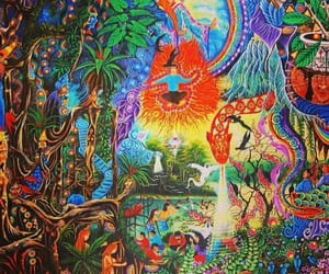 art, intuition, and chakras image