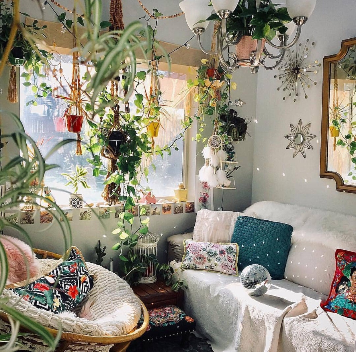 boho, decor, and decoration image