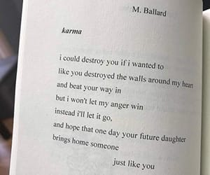 karma, quotes, and love image