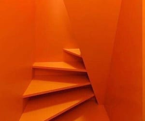 feed, orange, and stairs image